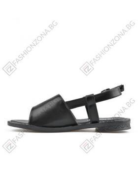 Черни дамски ежедневни сандали Shelley в online магазин Fashionzona