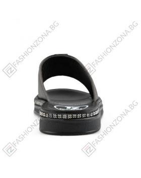 Черни дамски ежедневни чехли Ivet в online магазин Fashionzona