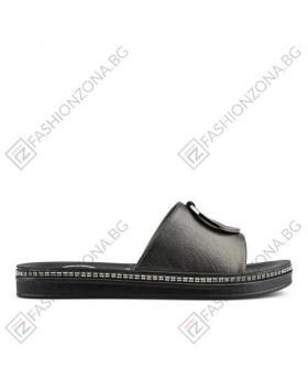 016a0e9c750 Черни дамски ежедневни чехли Ivet в online магазин Fashionzona