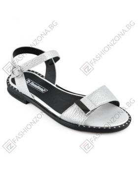 Бели дамски ежедневни сандали Amayah в online магазин Fashionzona