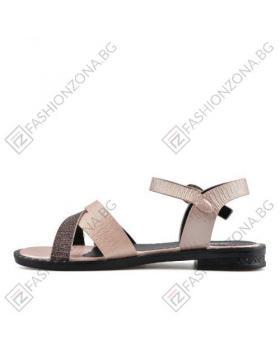 Розови дамски ежедневни сандали Kenya в online магазин Fashionzona