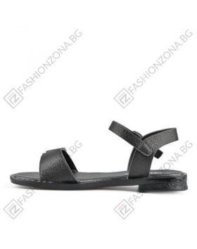 Черни дамски ежедневни сандали Lorie в online магазин Fashionzona
