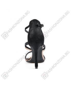 Черни дамски елегантни сандали Jaelynn в online магазин Fashionzona