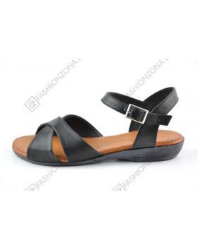 Черни дамски ежедневни сандали Lorelai в online магазин Fashionzona