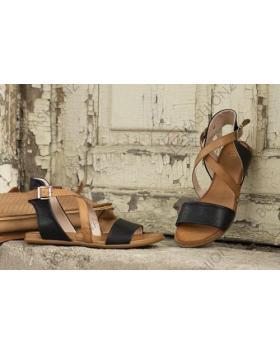 Черни дамски ежедневни сандали Dream в online магазин Fashionzona