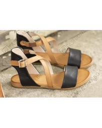 Черни дамски ежедневни сандали Dream