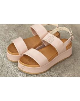 Розови дамски ежедневни сандали Ellis в online магазин Fashionzona