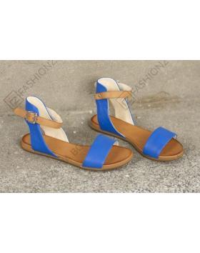 Сини дамски ежедневни сандали Miriam в online магазин Fashionzona