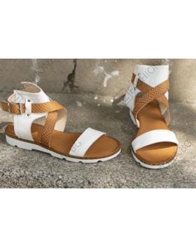 Бели дамски ежедневни сандали allida11 Destine Beulah в online магазин Fashionzona