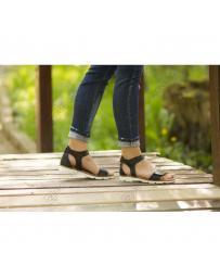 Черни дамски ежедневни сандали Hattie
