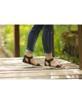 Черни дамски ежедневни сандали Hattie в online магазин Fashionzona