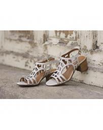 Бежови дамски ежедневни сандали Abigail