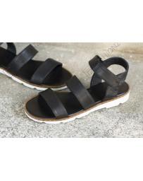 Черни дамски ежедневни сандали Eula