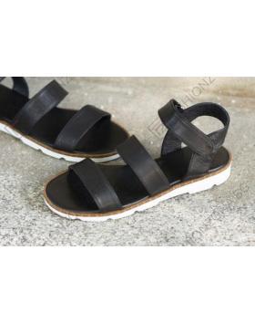 Черни дамски ежедневни сандали Eula в online магазин Fashionzona