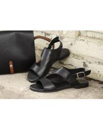 Черни дамски ежедневни сандали Norma