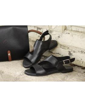 Черни дамски ежедневни сандали Norma в online магазин Fashionzona