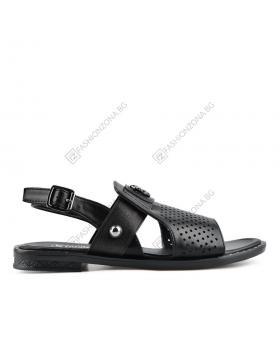 Черни дамски ежедневни сандали Bettye в online магазин Fashionzona