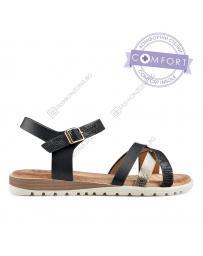 Черни дамски ежедневни сандали Alisha