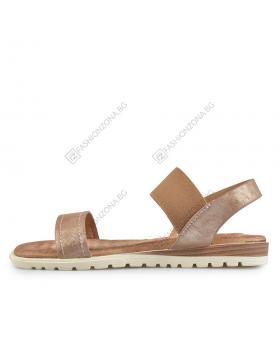 Бронзови дамски ежедневни сандали Alaya в online магазин Fashionzona