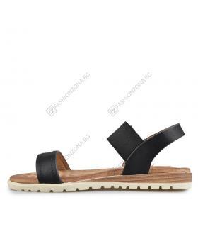 Черни дамски ежедневни сандали Hester в online магазин Fashionzona