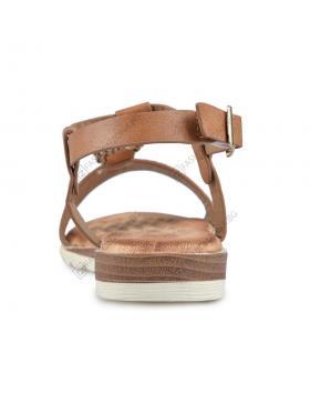 Кафяви дамски ежедневни сандали Lailah в online магазин Fashionzona