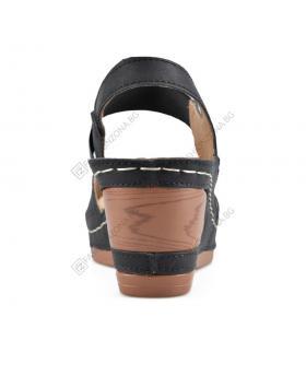 Черни дамски ежедневни сандали Blake в online магазин Fashionzona