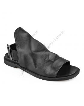 Черни дамски ежедневни сандали Celina в online магазин Fashionzona