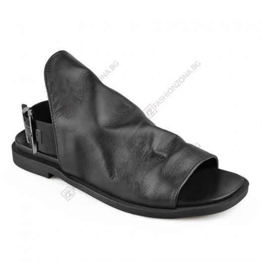 Черни дамски ежедневни сандали Celina