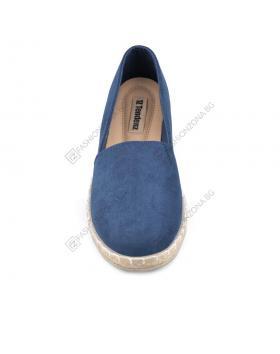 Сини дамски ежедневни обувки Alannah в online магазин Fashionzona