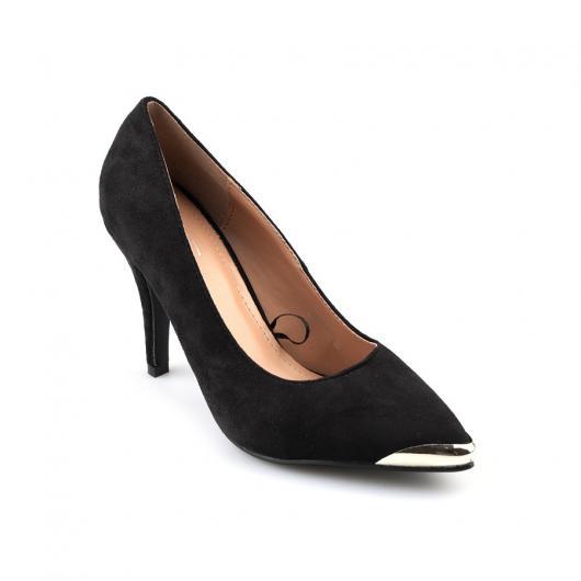 Черни дамски елегантни обувки Bianey