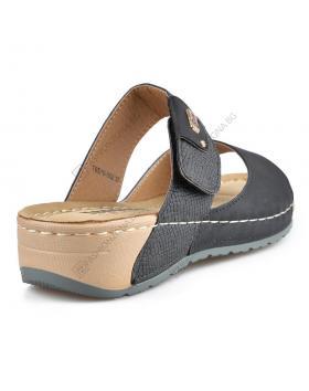 Черни дамски ежедневни чехли Alaina в online магазин Fashionzona