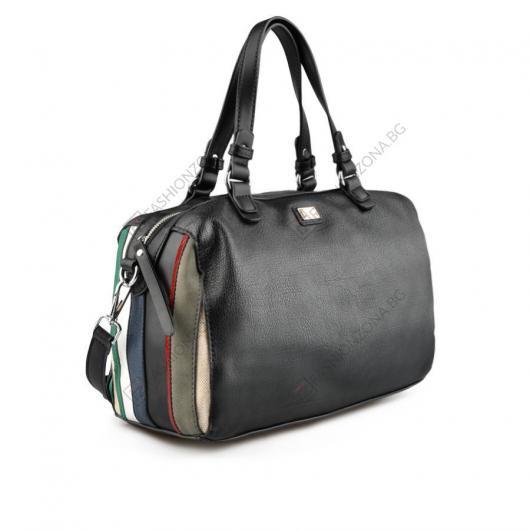Черна дамска ежедневна чанта Anya
