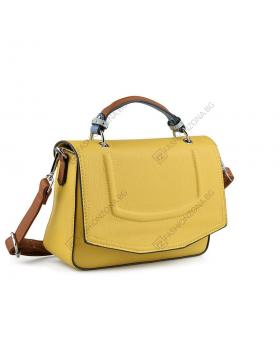 Жълта дамска ежедневна чанта Katina Kailee в online магазин Fashionzona