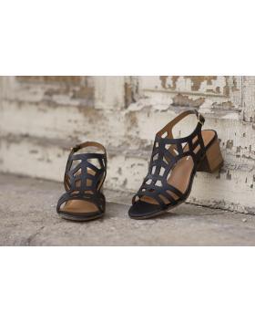 Черни дамски ежедневни сандали Ryann в online магазин Fashionzona