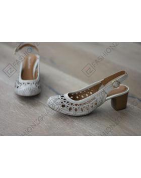 Бежови дамски ежедневни сандали Samira в online магазин Fashionzona