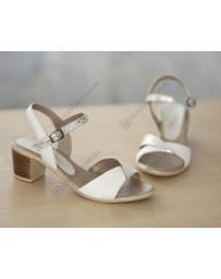 Бежови дамски елегантни сандали Lawanda в online магазин Fashionzona