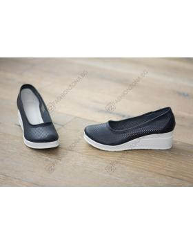 Сини дамски ежедневни обувки Sawyer в online магазин Fashionzona