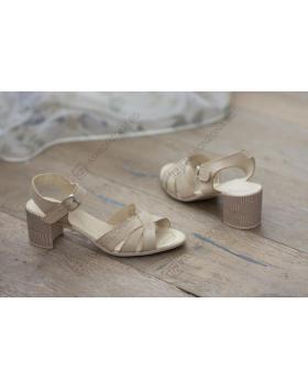 Бежови дамски ежедневни сандали Kimberley в online магазин Fashionzona
