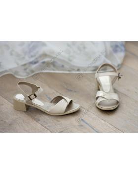 Бежови дамски ежедневни сандали Athena в online магазин Fashionzona