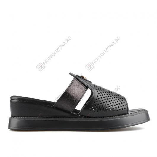 Черни дамски ежедневни чехли Sonja