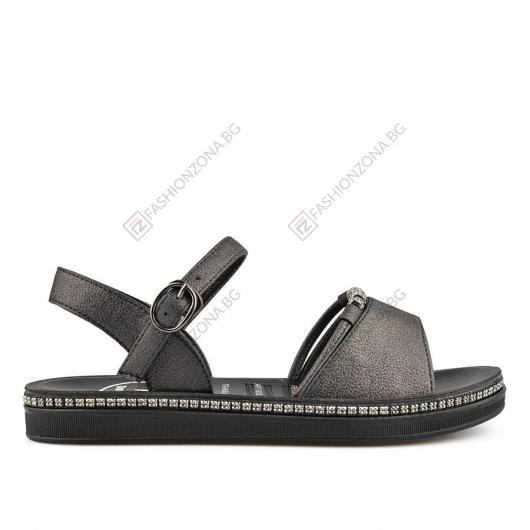 Черни дамски ежедневни сандали Deidre