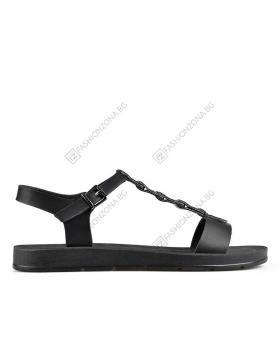 2857dc35c02 Черни дамски ежедневни сандали Carter в online магазин Fashionzona