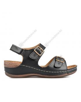 13718286c24 Черни дамски ежедневни сандали Brenna в online магазин Fashionzona