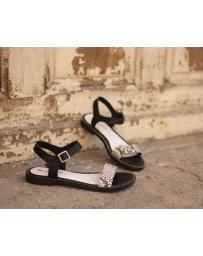 Черни дамски ежедневни сандали Paulette в online магазин Fashionzona