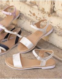 Сребристи дамски ежедневни сандали Adley в online магазин Fashionzona