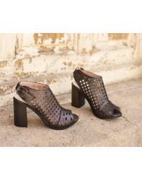 Черни дамски елегантни сандали Malinda