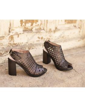 Черни дамски елегантни сандали Malinda в online магазин Fashionzona