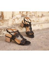Черни дамски ежедневни сандали Ayleen в online магазин Fashionzona
