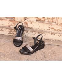 Черни дамски ежедневни сандали Sutton в online магазин Fashionzona