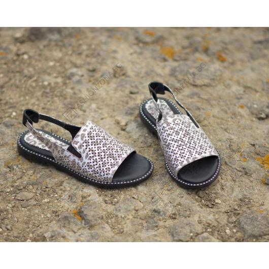 Сребристи дамски ежедневни сандали 1913 Mildred